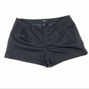 Mossimo | Black tailored shorts | Size 12